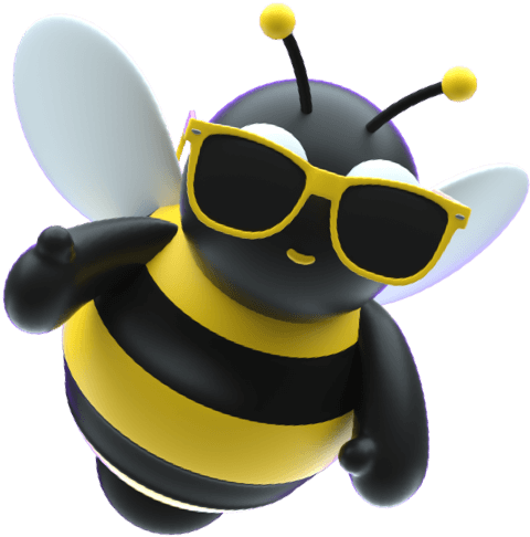 Odie (Bumblebee) with glasses